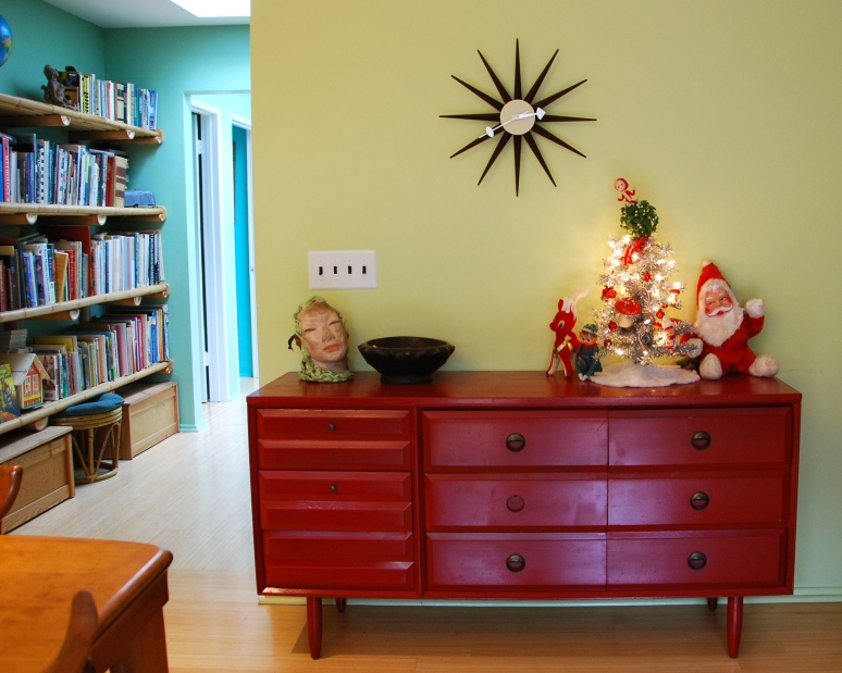 retro mid century christmas decor california pixie style lifestyle blog