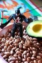 pinto beans luchador black