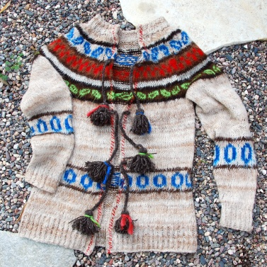 turn pullover into cardigan peruvian cardy free people style california pixie