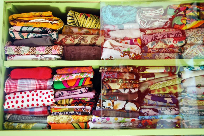 vintage fabric collection how to store old fabric