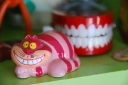 cheshire cat disney vintage figurine clacking wind up teeth california pixie decr lifestyle blog - Copy