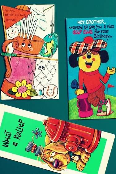 greeting cards holiday 60s 70s vintage