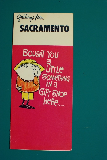 greetings from sacramento card vintage nostalgia california pixie