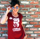 kimi encarnacion california pixie tshirt DIY lucky cat moonpools and caterpillars