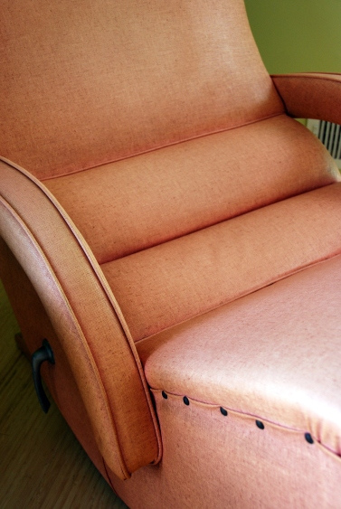 vintage 50s vinyl furniture
