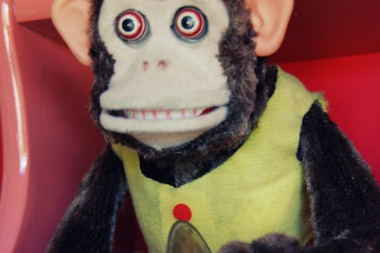cymbal monkey vintage