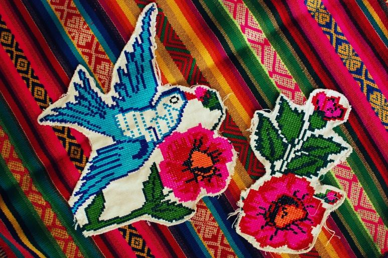 patchwork shirt free peole DIY bleubird blog