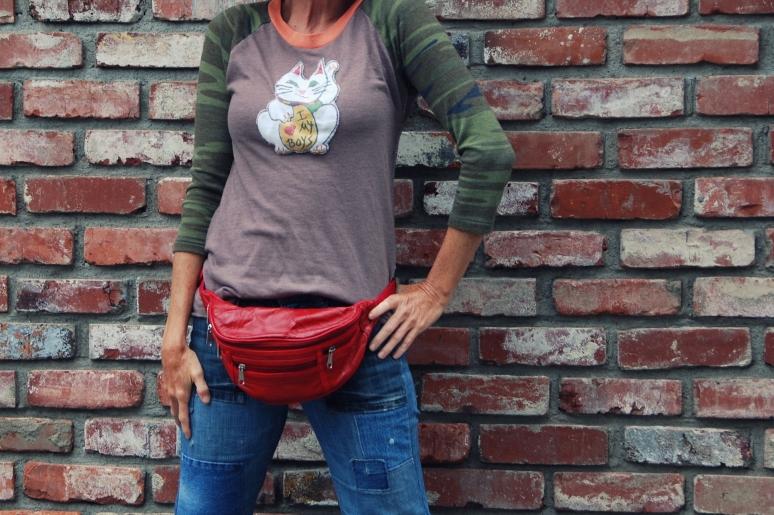 lucky cat alternative apparel DIY tshirt california pixie kimi encarnacion-001